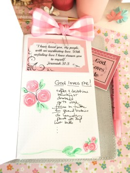 Place Journal scripture cards where they will be seen on a daily basis.
