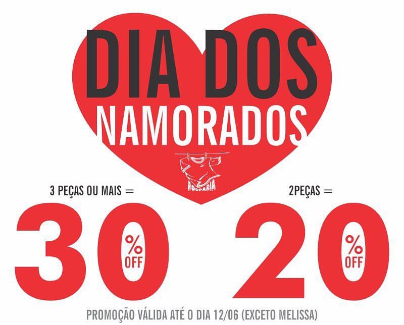 Loja Rouparia lança promoção do Dia dos Namorados