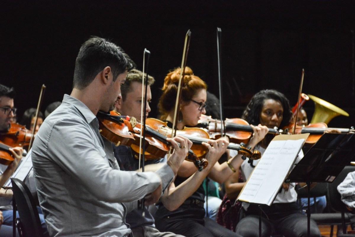 """Orquestra Sinfônica de Ribeirão Pires se prepara para Concerto """"Noite Azul"""""""