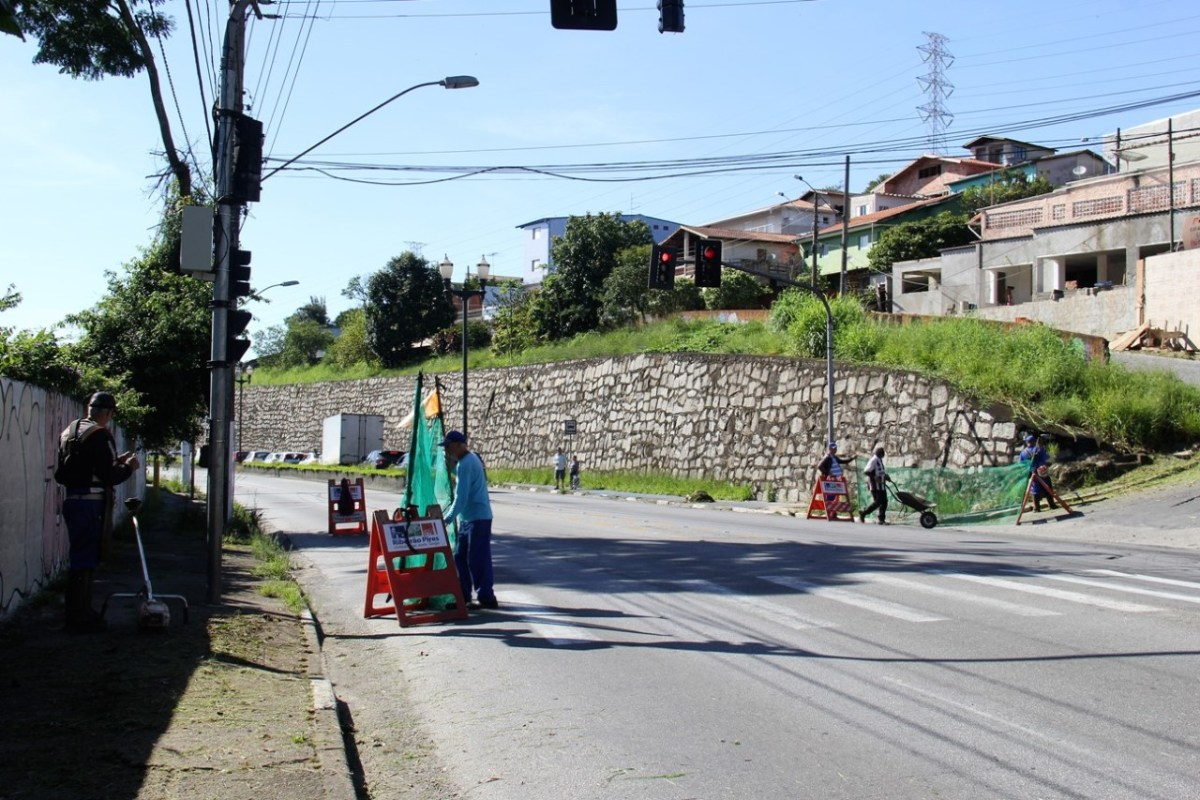 Equipes da Prefeitura estruturam Festival do Chocolate e promovem manutenções em Ribeirão Pires