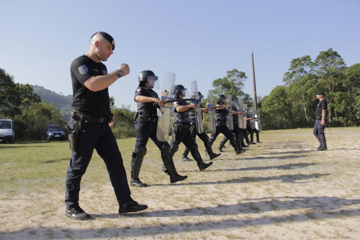 Guarda Municipal de Ribeirão Pires realiza capacitação da GCM de Suzano