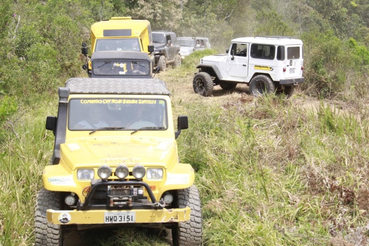 14º Passeio Inclusivo do Jeep Clube de Ribeirão Pires acontece dia 23 de setembro