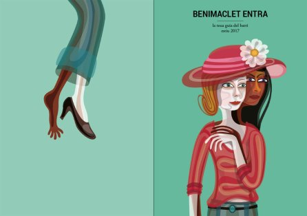 Illustration for Benimaclet Entra Magazine.