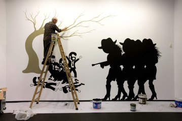 Shootings (Wall painting)