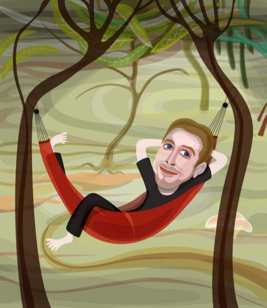 Ryan Gosling on vacation