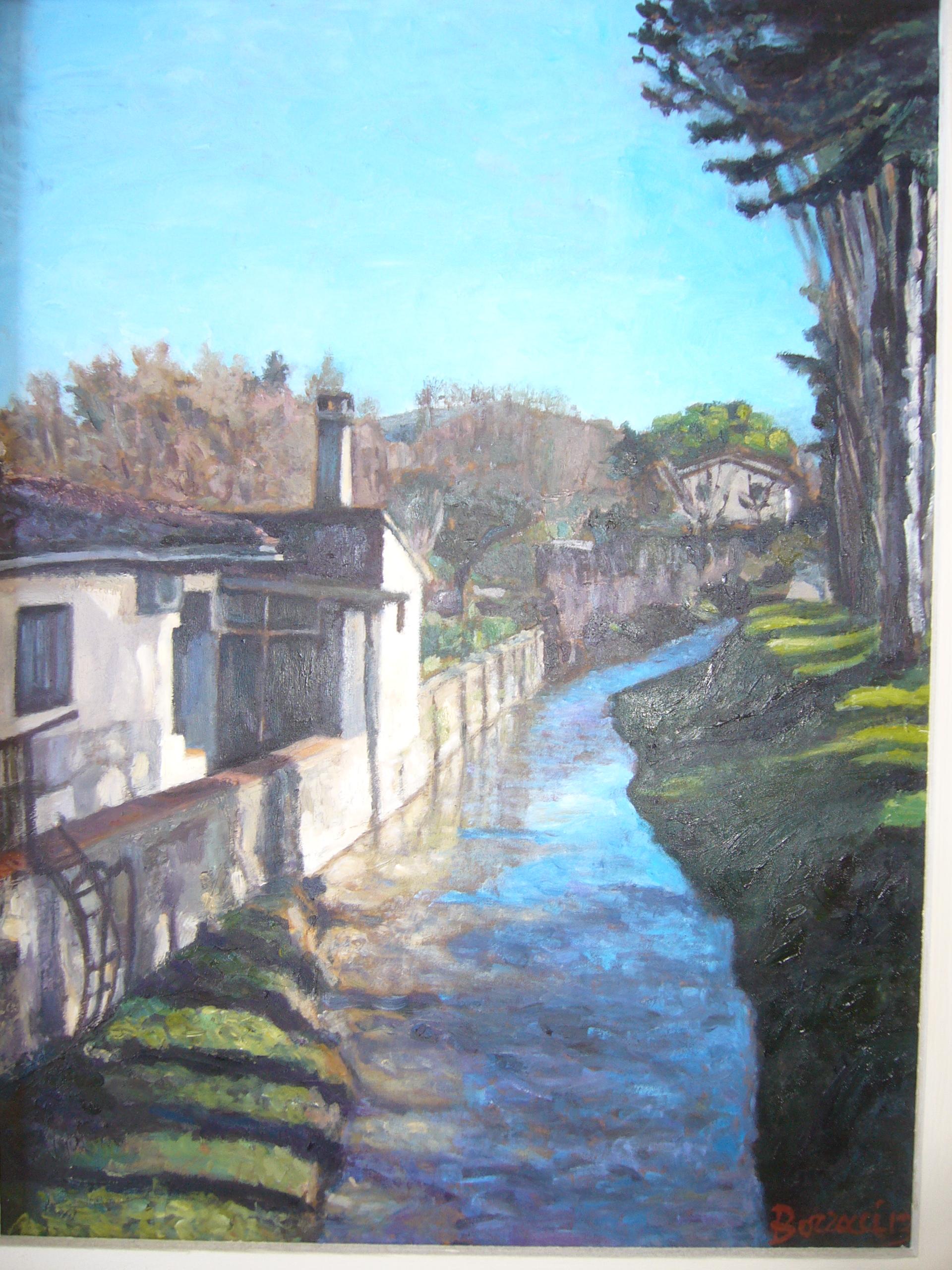 Paesaggi toscani A Borracci dipinge gli elementi  ribesmirtilloefragola
