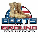 Boots on The Ground for Heroes Memorial