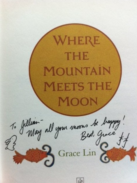 Grace Lin's Book Signature