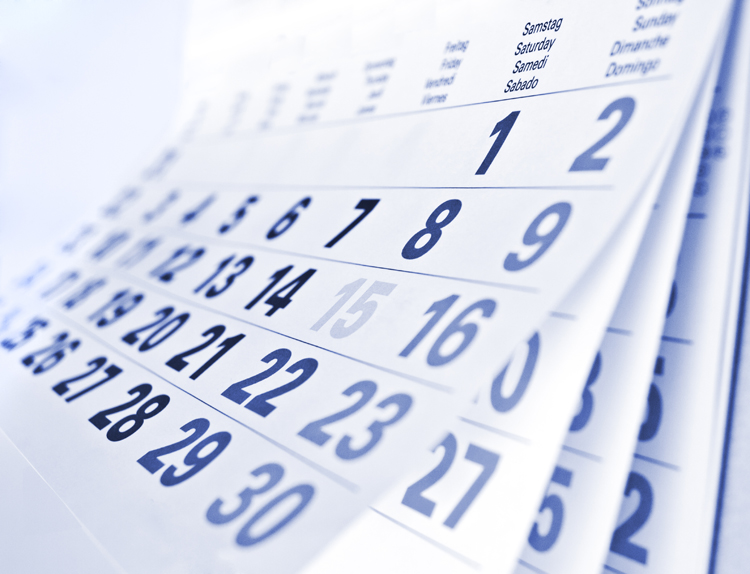 Calendar of Events Image