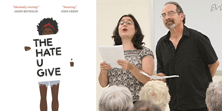 Living Literature Performs the hate u give