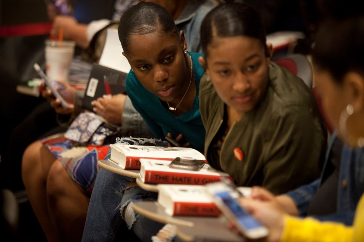Students at the Hate U Give