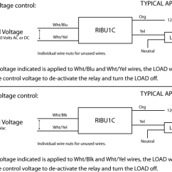 Rib Relay Wiring Diagram Brake Ribu1c Relays How To Connect An