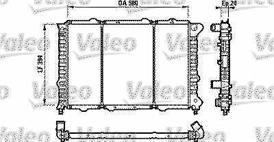 Kühler / Wasserkühler Alfa 156 / 156 SW 1,9 JTD / 2.4 JTD