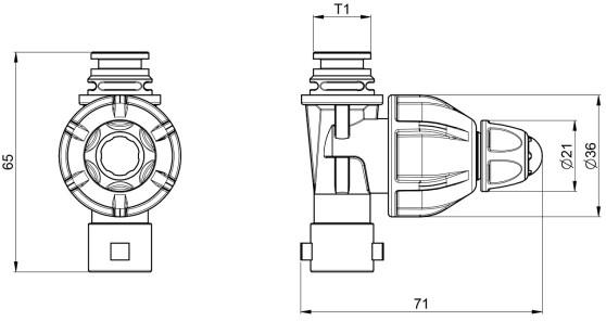 Dimensioni UNIGET 402315C ARAG