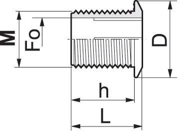 Disegno tecnico BOCCHETTONE SCARICO 220060 ARAG