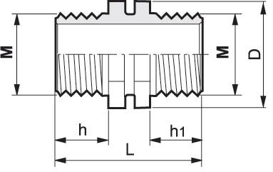 Disegno tecnico NIPPLO 105110A ARAG (1)