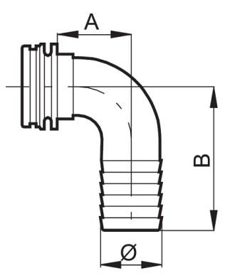 Disegno tecnico PTG 460135 ARAG