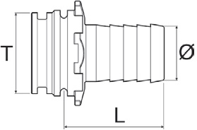 Disegno tecnico RACCORDO 1091513 ARAG