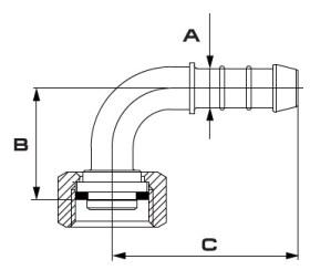Disegno tecnico GIUNTO 163.604.13 BRAGLIA