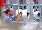 Produzione filati riciclati al 100%