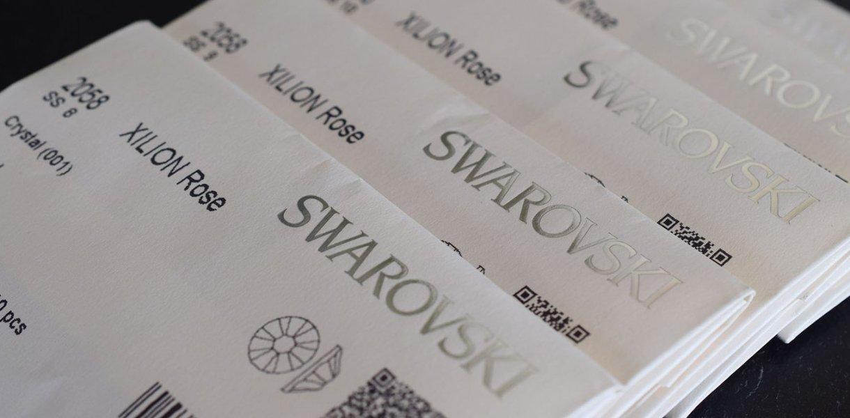 Confezioni strass Swarovski originali
