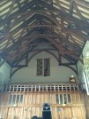 Interior of Great Hall at Dartington