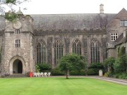 14th c. Great Hall with Porch Entrance - Dartington Hall