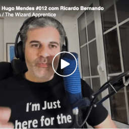 Fui entrevistado pelo Hugo Mendes / The Wizard Apprentice