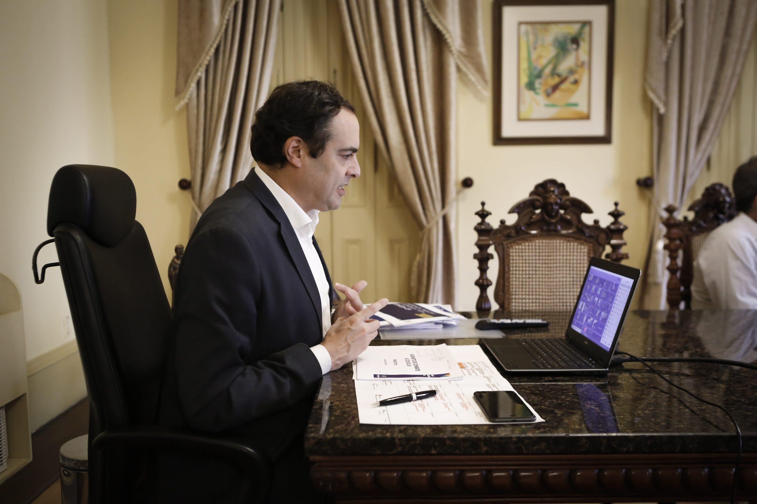 Paulo Câmara se reúne com prefeitos de todo o Estado para avaliar ...