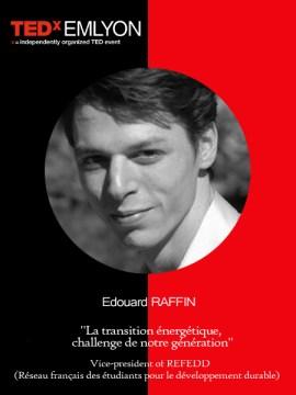 Edouard Raffin - TEDxEMLYON
