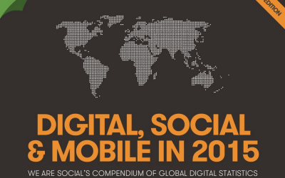 Digital, Social Media et Mobile en 2015