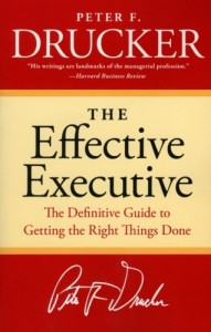 The Effective Executive de Peter Drucker
