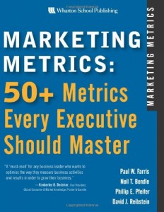 Marketing Metrics de Paul W. Farris et al