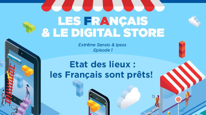 Les français et le digital store