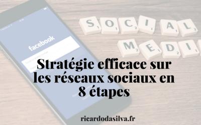 Stratégie efficace sur les réseaux sociaux en 8 étapes