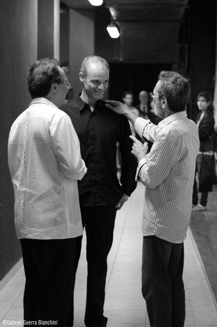 Maestros Yo-Yo Ma y Leo Brouwer. Habana 2014