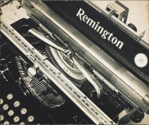 Man Ray - Typwriter, 1925