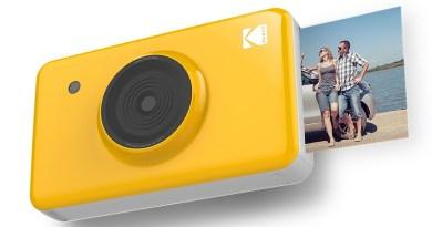Kodak lança câmera Mini Shot Instant