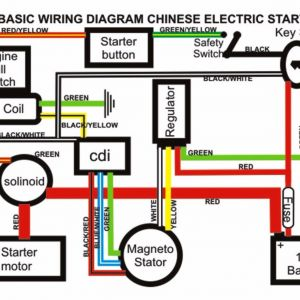 110 Pit Bike Wiring Diagram | Free Wiring Diagram