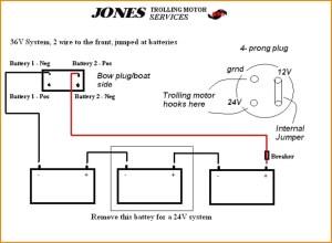 12 24 Volt Trolling Motor Wiring Diagram | Free Wiring Diagram