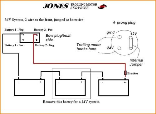 small resolution of 12 24 volt trolling motor wiring diagram