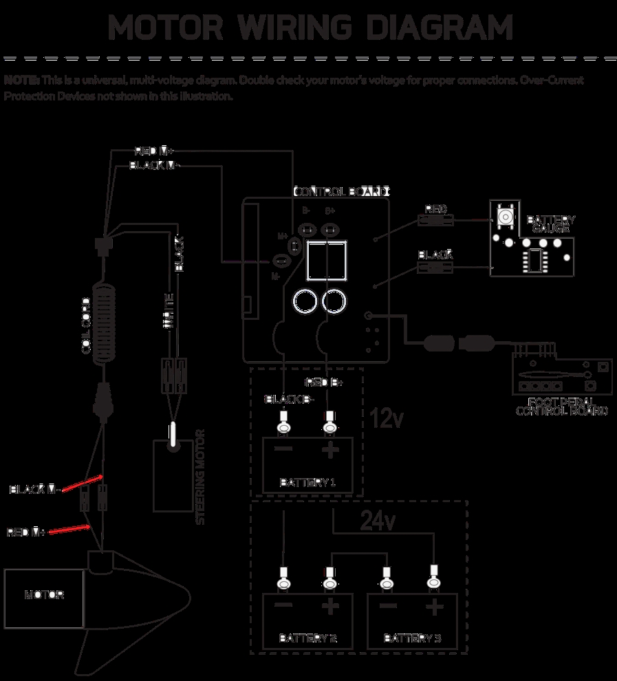 medium resolution of 12 24 volt trolling motor wiring diagram