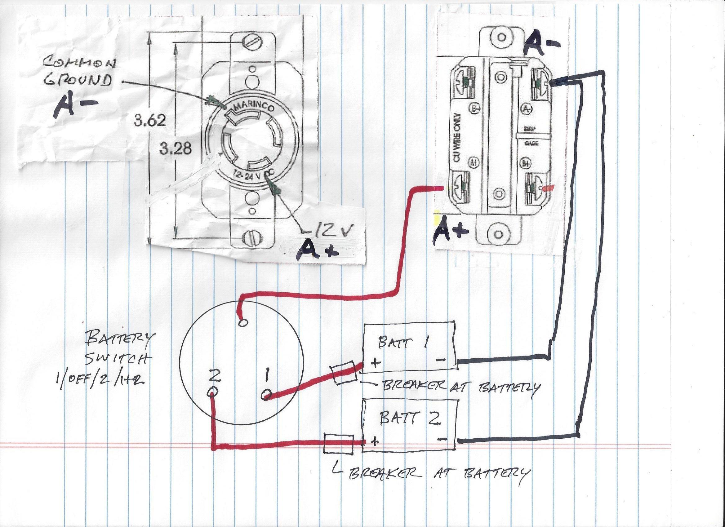36 volt battery wiring diagram trolling motor