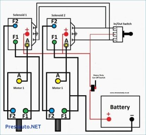 12 Volt Winch solenoid Wiring Diagram | Free Wiring Diagram