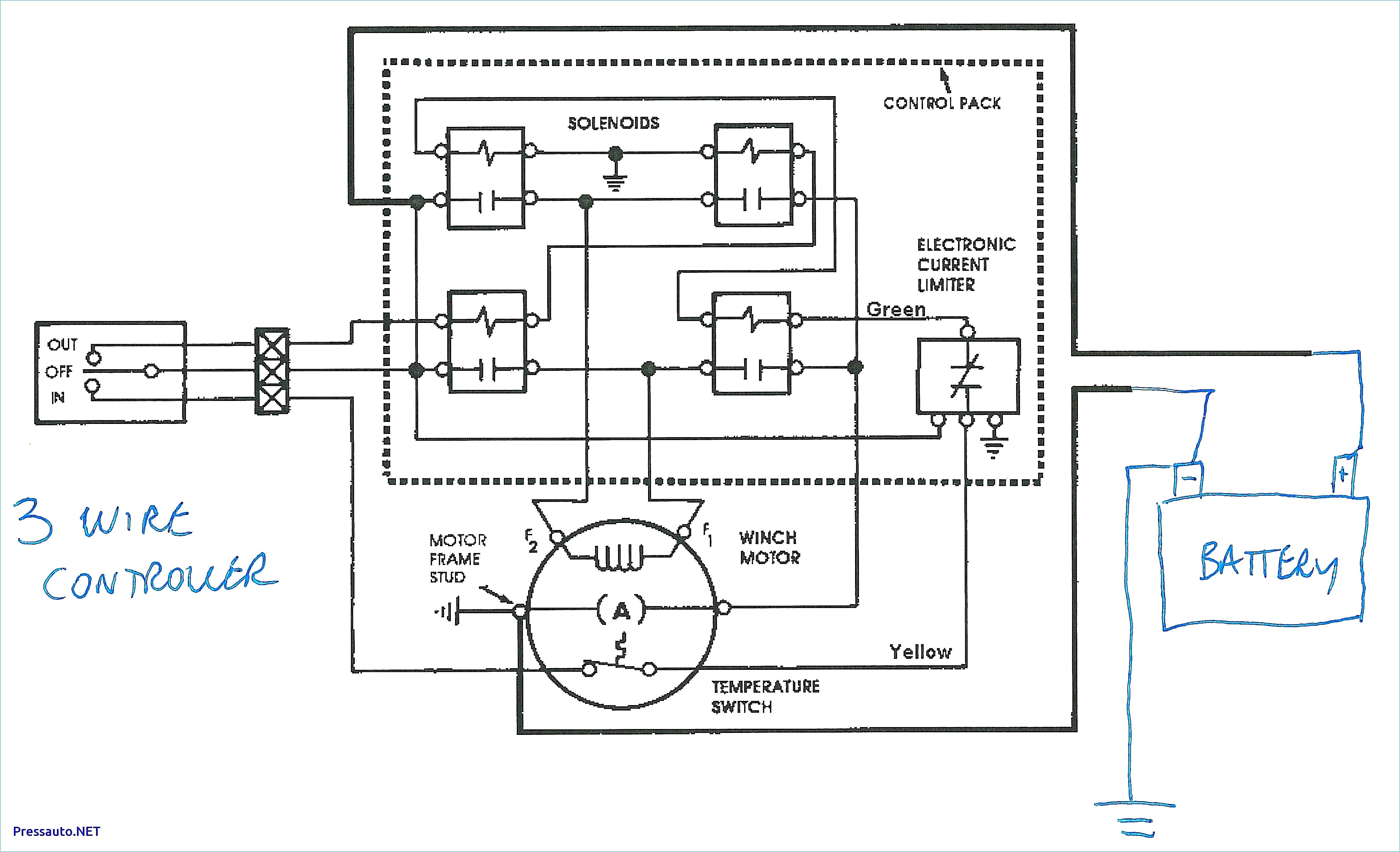 12 volt winch switch wiring diagram