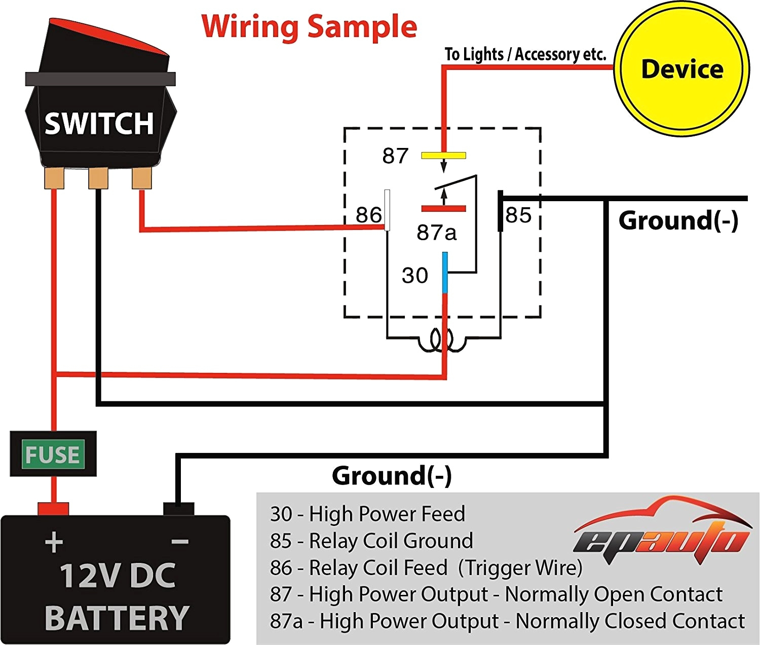 hight resolution of 120 volt relay wiring diagram
