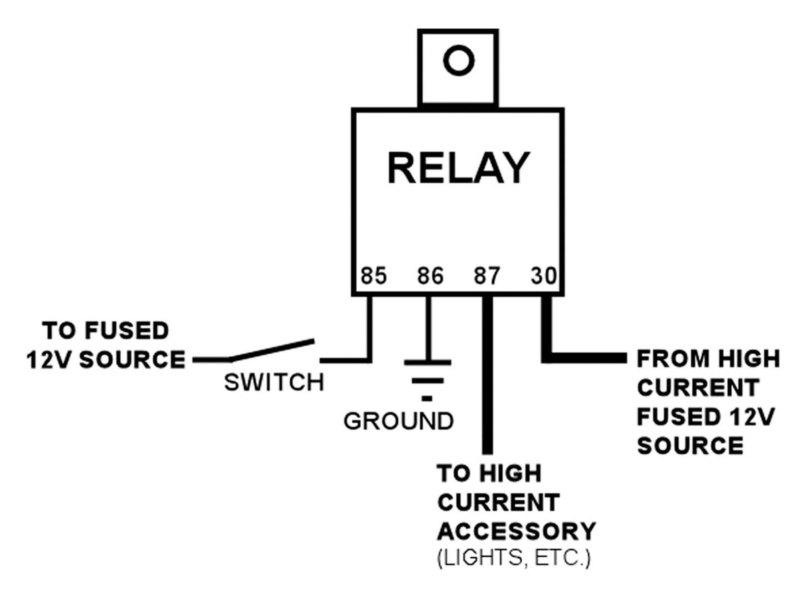 hight resolution of 12v relay wiring diagram spotlights wiring diagram for 12v auto relay valid 12v relay wiring