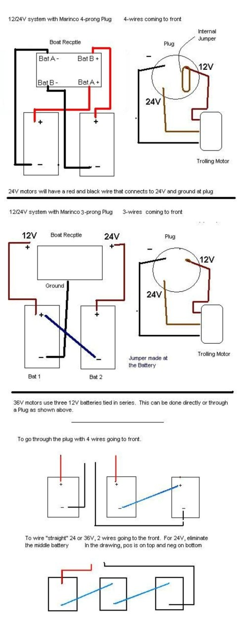 small resolution of 36 volt trolling diagrams wiring diagram used 24v trolling motor wiring diagram of system