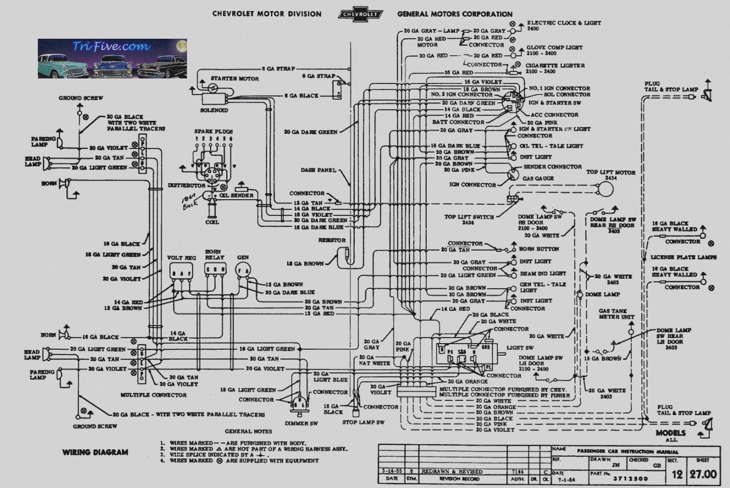 Chevy Turn Signal Wiring Diagram