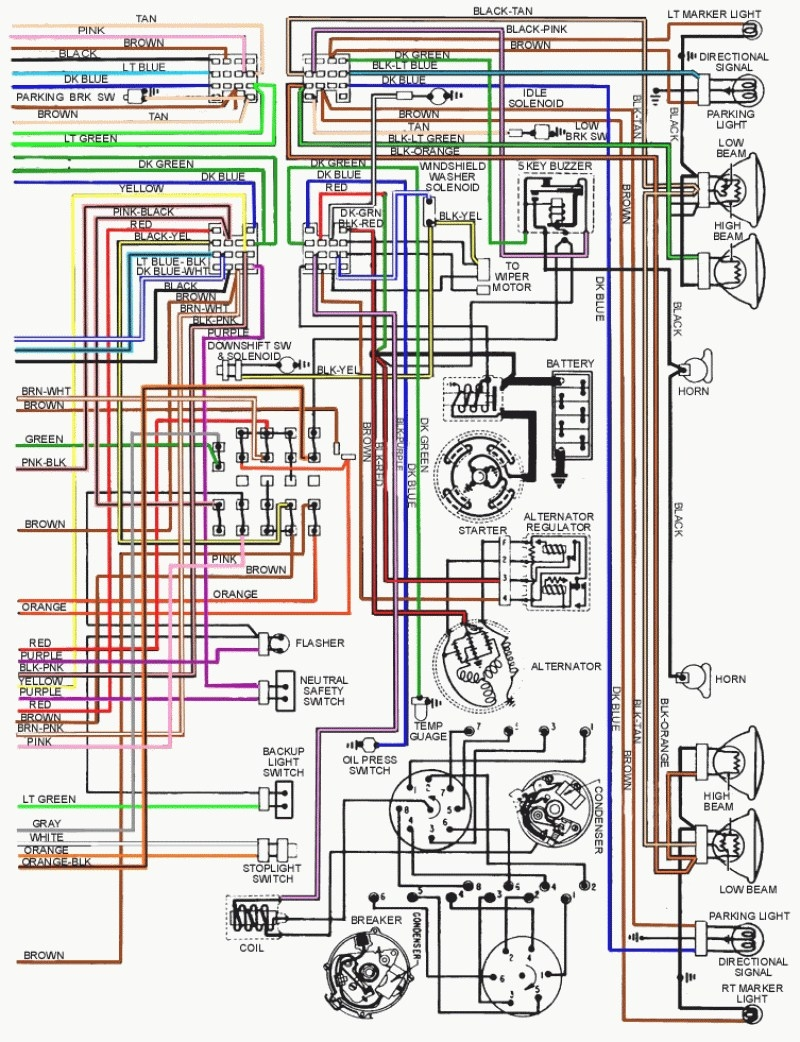 medium resolution of 1967 firebird wiring diagram